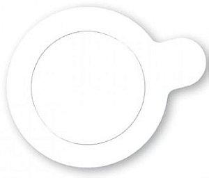 Base para Doce - Branca - 8cm - 20 unidades - UltraFest - Rizzo Confeitaria