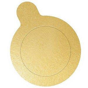 Base para Doce - Dourada - 10cm - 20 unidades - UltraFest - Rizzo Confeitaria