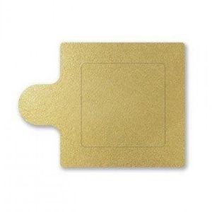 Base para Doce Quadrada - Dourada - 6x6cm - 20 unidades - UltraFest - Rizzo Confeitaria