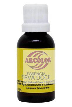 Essência Erva Doce  30 ml Arcolor