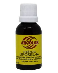 Essência Groselha  30 ml Arcolor