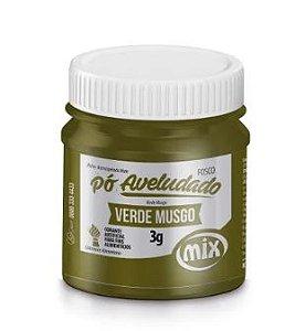 Pó aveludado Verde Musgo 3g Mix Rizzo Confeitaria