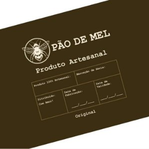 Rótulo e Tira Decorativa Pão de Mel - Tam P / M / G - 5 unidades - Rizzo Confeitaria