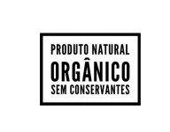 Carimbo Artesanal Produto Natural Orgânico sem Conservantes - M - 6,0x4,3cm - Cod.RI-019- Rizzo Confeitaria