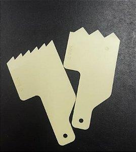Kit Decorativo Mini Espatula Mod.04 - Blue Star - Rizzo Confeitaria