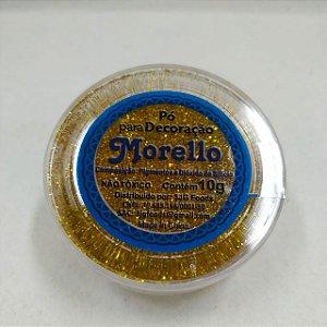 Pó para Decoração - Brilho Dourado - Morello - 10g - Rizzo Confeitaria
