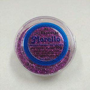 Pó para Decoração - Brilho Pink - Morello - 10g - Rizzo Confeitaria