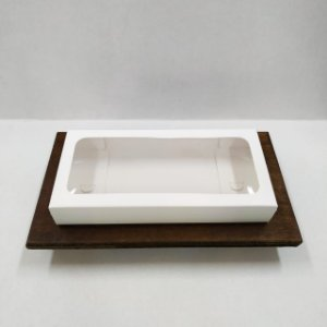 Caixa Envelope Tablete - Branco - 18 Gomos -10 unidades - Crystal - Rizzo Confeitaria