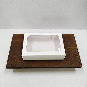 Caixa Envelope Tablete - Branco -12 Gomos -10 unidades - Crystal - Rizzo Confeitaria
