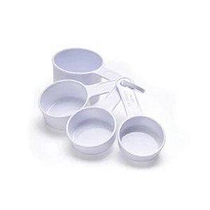 Jogo de Xicara Medidora - 4 Peças - Cod.Kit 05 - Solrac - Rizzo Confeitaria