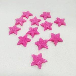 Confeitos Comestíveis Estrela Pink - Flores e Encantos de Açúcar - Rizzo Confeitaria