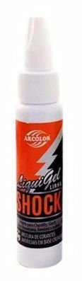 Corante Liqui Gel Shock - Laranja - 30g - Arcolor - Rizzo Confeitaria