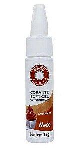 Corante SoftGel - Laranja - 15g - Mago - Rizzo Confeitaria