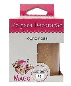 Pó para decoração - Cobre - 8g - Mago - Rizzo Confeitaria