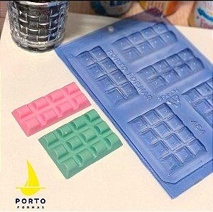 Forma tablete oval  Ref 454Porto Formas Rizzo Confeitaria