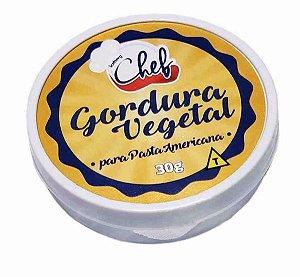 Gordura Vegetal para Pasta Americana - 30g - Iceberg - Rizzo Confeitaria