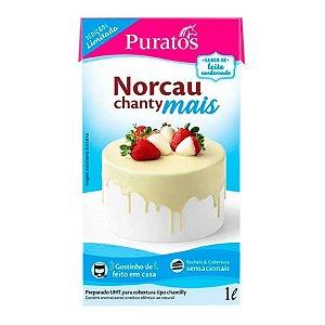 Chantilly Norcau Chanty Mais Leite Condensado  - 1L - Puratos - Rizzo Confeitaria