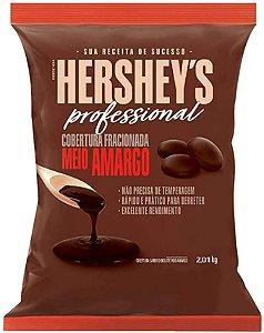 Hershey's Profissional Cobertura Fracionada Meio Amargo - 2,01kg - Rizzo Confeitaria