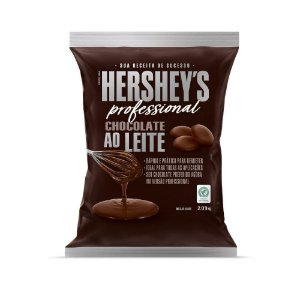 Chocolate Ao leite 2,01kg - Hershey's Professional Rizzo Confeitaria
