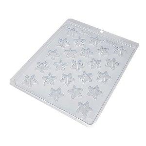Forma de Acetato Mini Estrela Cód. 9297 BWB Rizzo Confeitaria