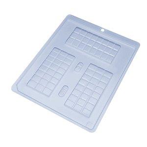 Forma de Acetato Tablete Grande Cód. 37 BWB Rizzo Confeitaria