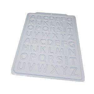 Forma de Acetato Alfabeto Pequeno SP708 BWB