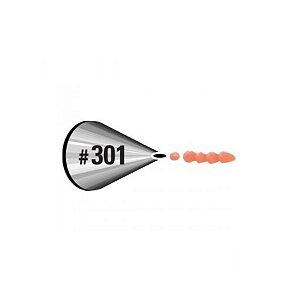 Bico para Confeitar Perle Oval 301 Wilton