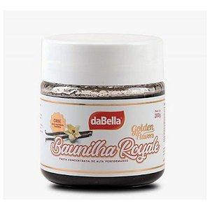 Pasta Saborizante Puro Sabor Baunilha Royale 200g daBella