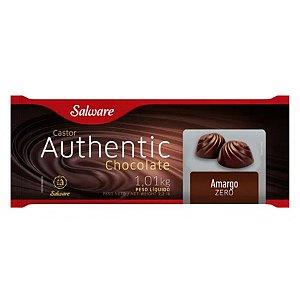 Chocolate Authentic Zero Açúcar Amargo 1,01KG - Salware