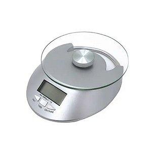 Balança Digital para cozinha de vidro 5kg Mimo - Rizzo Confeitaria