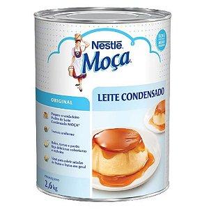 Leite Condensado Moça 2,6kg - Nestlé - Rizzo Confeitaria