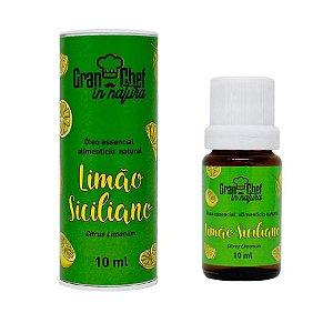 Óleo Essencial Alimentício Natural Limão Siciliano10ml GranChef - Rizzo Confeitaria