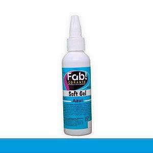 Soft Gel Azul 25g - Fab - Rizzo Confeitaria