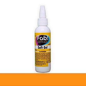 Soft Gel Laranja 25g - Fab - Rizzo Confeitaria