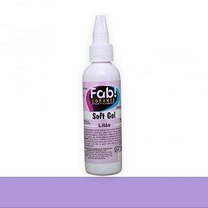 Soft Gel Lilás 25g - Fab - Rizzo Confeitaria