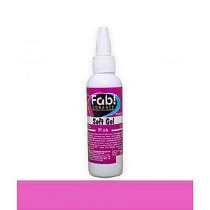 Soft Gel Pink 25g - Fab - Rizzo Confeitaria