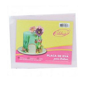 Placa de Eva para Bolear Celebrate - Rizzo Confeitaria