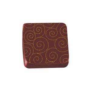 Transfer para Chocolate Pontilhado - TRG 8092 04 - Stalden - Rizzo Confeitaria