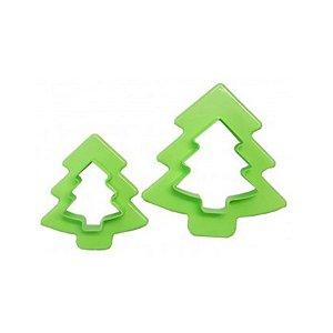 Cortador Plástico Árvore de Natal Prime Chef - Rizzo Confeitaria