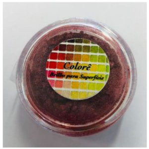 Pó para decoração, Brilho para superficie Colorê Esplêndido - 2g LullyCandy Rizzo Confeitaria