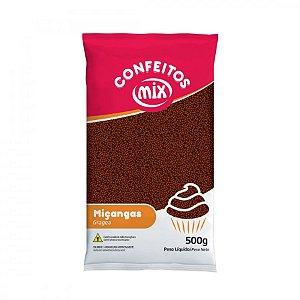 Confeito Miçanga - Brigadeiro - 500g - Mix