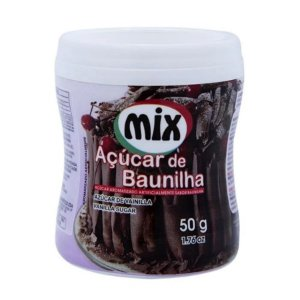 Açúcar de Baunilha - 50g - Mix - Rizzo Confeitaria