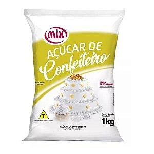 Açúcar de Confeiteiro - 1Kg - Mix - Rizzo Confeitaria
