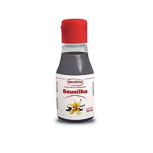 Aroma Baunilha - 30 ml - Mavalério - Rizzo Confeitaria