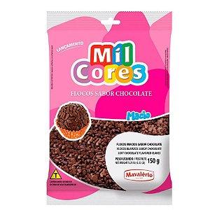 Flocos Macios sabor Chocolate - 150g - Mavalério - Rizzo Confeitaria