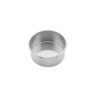Forma Redonda Reta Fundo fixo de alumínio - 1 un - 15x10 cm - GoldPan Formas