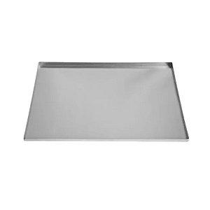 Assadeira Rocambole Reta de alumínio - 1 un - 40x30 cm - GoldPan Formas
