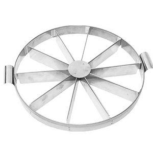 Marcador e Cortador para Tortas e Bolos 30 cm com 10 pedaços RGR - Rizzo Confeitaria