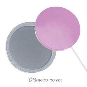 Molde de Silicone Pirulito Gd 10cm Ref. 158 Flexarte Rizzo Confeitaria