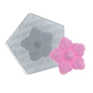 Molde de Silicone Florzinha Birkheuer Ref. 519 Flexarte Rizzo Confeitaria